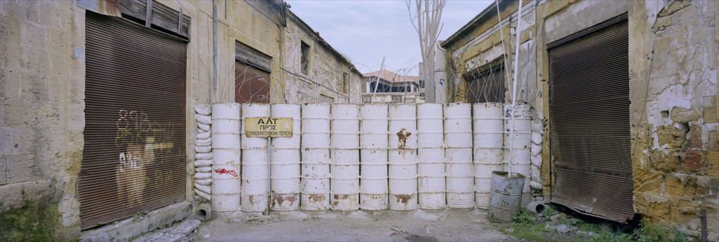 37_1742CY_barrels_blocks_street